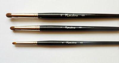 Pędzel kulka do cieni Maestro 420 (w trzech rozmiarach)