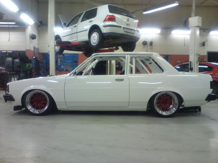 Old Classic TOYOTA corolla - I remember when you couldn't give these things away. Now they're back.