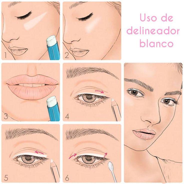 12 fotos que te explicarán todos los trucos de maquillaje - Imagen 10