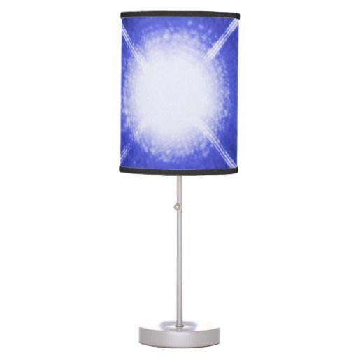 Sirius A and B stars desk lamp