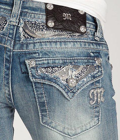 MISS ME JEANS SALE Buckle Flap Pocket Flare Stretch Jean 28 X 32*READ DESCRIPT  | eBay