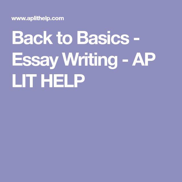 Ap essay help