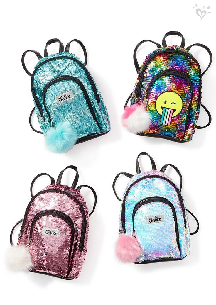 Mini backpacks, big trend, HUGE shine!