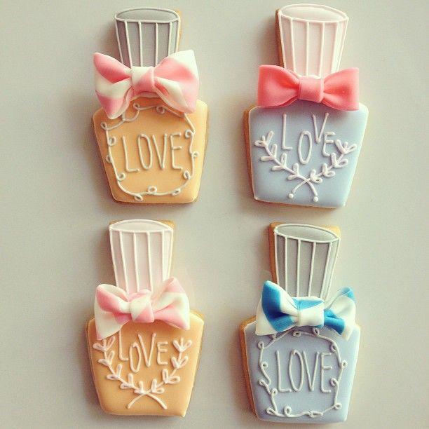 nail polish cookies