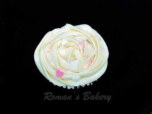 Cupcake de rosa / Rose Cupcake