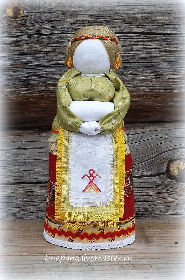 """Купить """"Моя жизнь"""" авторская кукла - разноцветный, оберег, традиционная кукла, Беременность, народная кукла"""