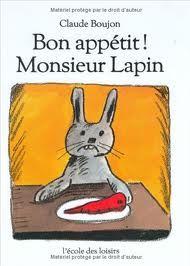 """Lire à partir d'albums CP : """"Bon appétit, Monsieur Lapin"""""""