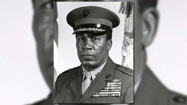 A huge honor for a Maryland man: The first African-American Marine pilot and the first general officer, Lt. General Frank E. Petersen, now has a ship bearing his name.