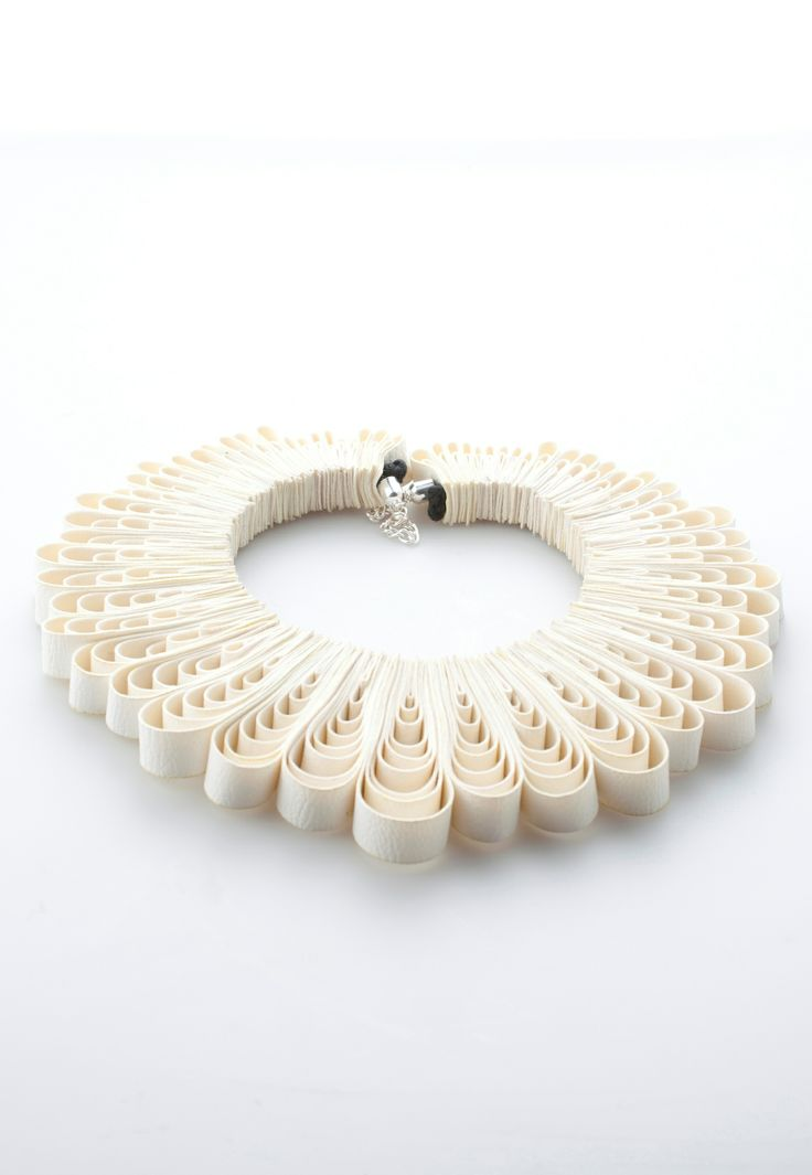 Quilling Style Necklace