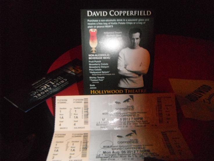David Copperfield @ MGM Grand, Las Vegas