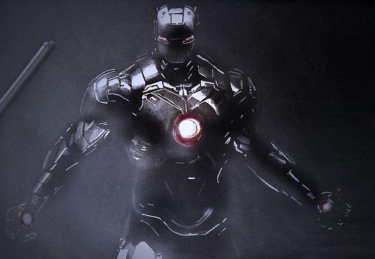Iron man negative draw