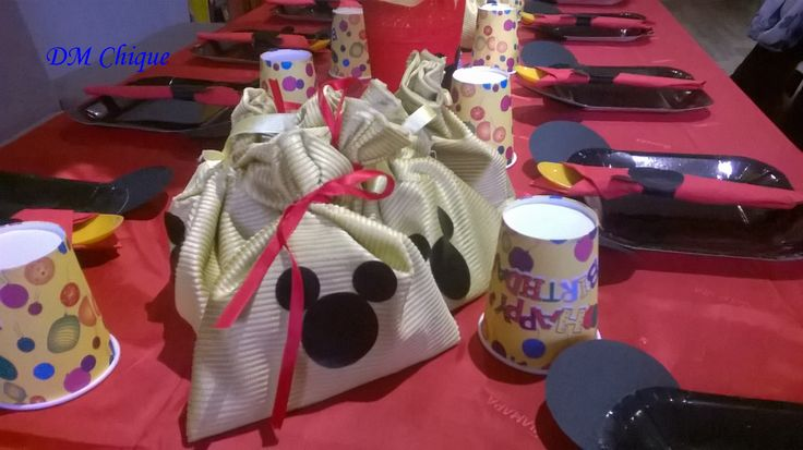 Mickey Mouse Birthday Bags