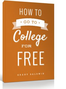 GO TO COLLEGE FOR FREE. SCHOOL WITHOUT DEBT.You need this! How To Go To College For Free! Tips on applying for scholarships, avoiding student loans, and keeping college expenses low to stay out of debt.