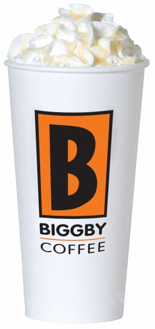 BIGGBY COFFEE White Lightening Latte (White Chocolate)