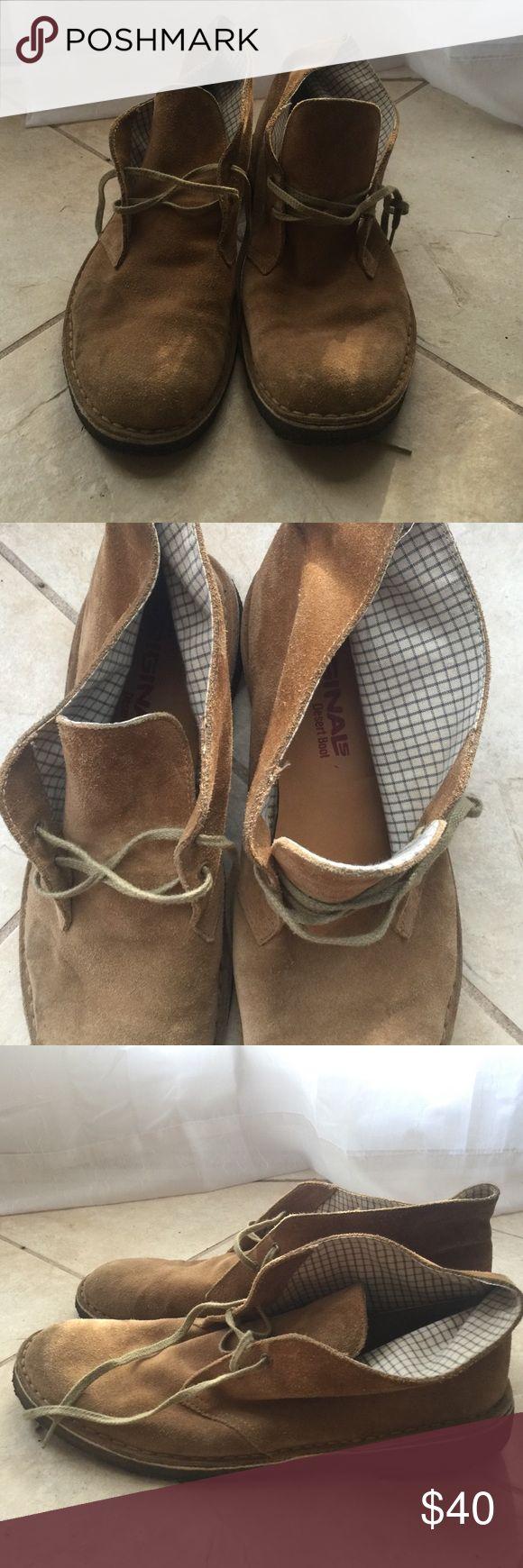 Men's leather Clarks. Clarks original desert boot. So hipster! Clarks Shoes