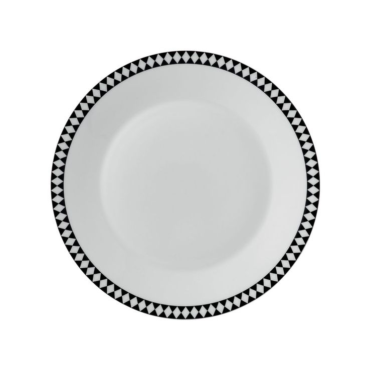 Jasper Conran at Wedgwood Mosaic Transitional Dinner Plate