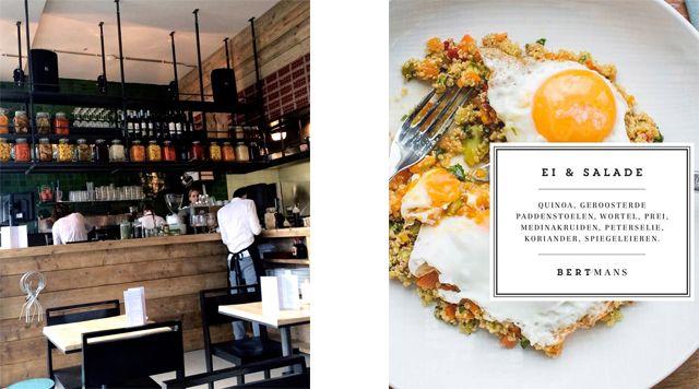 De nieuwe aanwinst op de Zaagmolenkade is restaurant Bertmans, open voor ontbijt, lunch en een borrel, zusje van Destino
