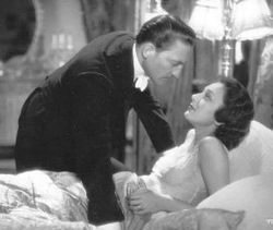 Situations such as this, a man about to kiss a woman who is in bed in her nightgown (Warren William and Ann Dvorak from Three on a Match), w...