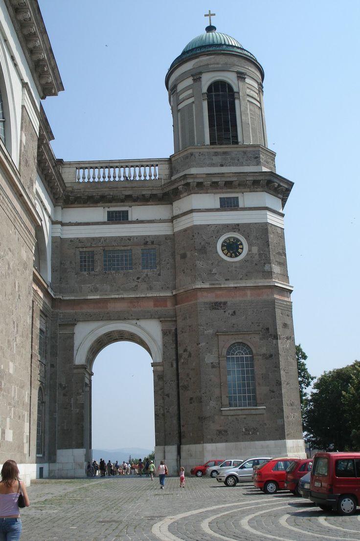 Hongarije 2006 Esztergom stukje van de grote basiliek