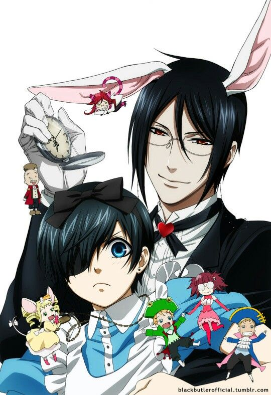 Black Butler Alice in Wonderland