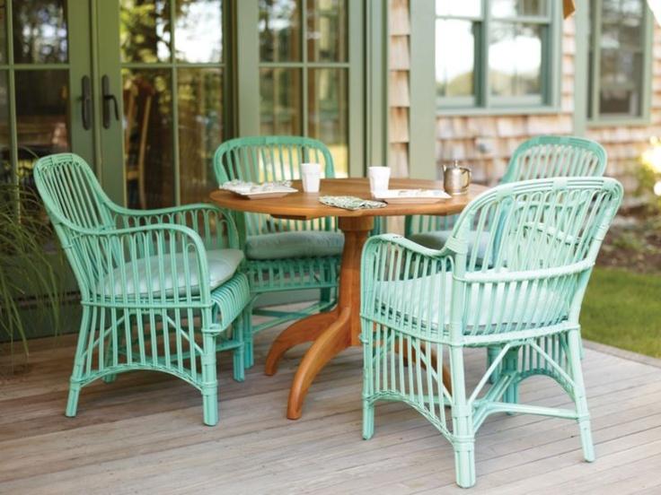 Wicker By Maine Cottage | Ilka Chair #wickerfurniture