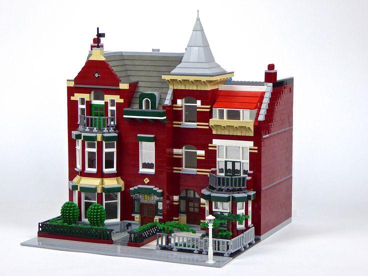 400 besten lego h user bilder auf pinterest lego haus for Lego modernes haus