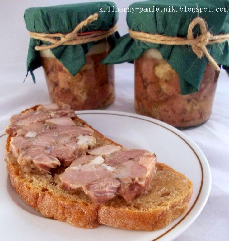 Kulinarny Pamiętnik Pani M.: Mięso kanapkowe w słoiku