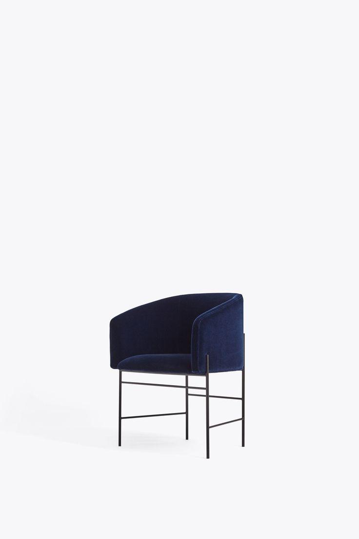 Covent Chair   Haakon 2, 792 W. Iron Black Frame