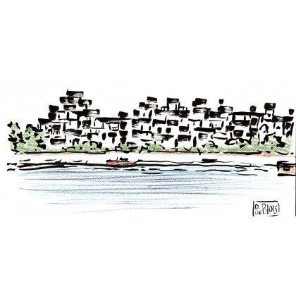 Habitat 67 by Daniele DeBlois. Love Montreal!