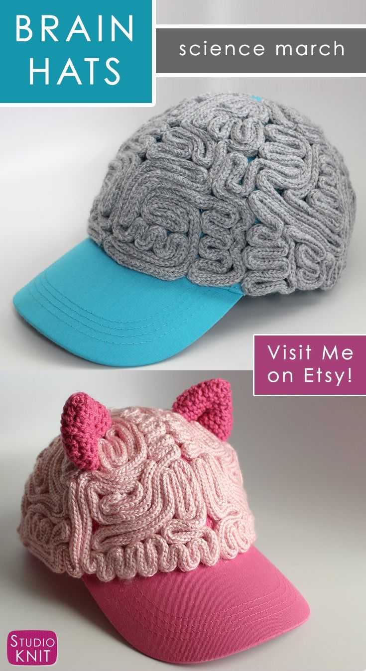 84 best Knit Brain Hat Patterns images on Pinterest