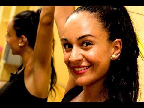 Come ballare per dimagrire e tonificare - Esercizi gratis per allenamento con danza caraibica a casa - YouTube