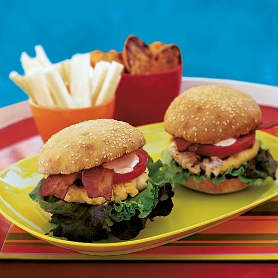 Shrimp And Scallop Burger Recipes — Dishmaps