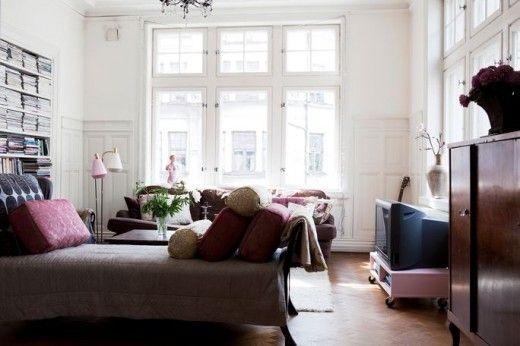 my dream apartment. #Nina Persson #apartment #vintage