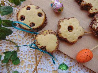 RADOŚĆ KIPIĄCA UŚMIECHEM.: Ciasteczkowe lizaki z siemieniem lnianym.