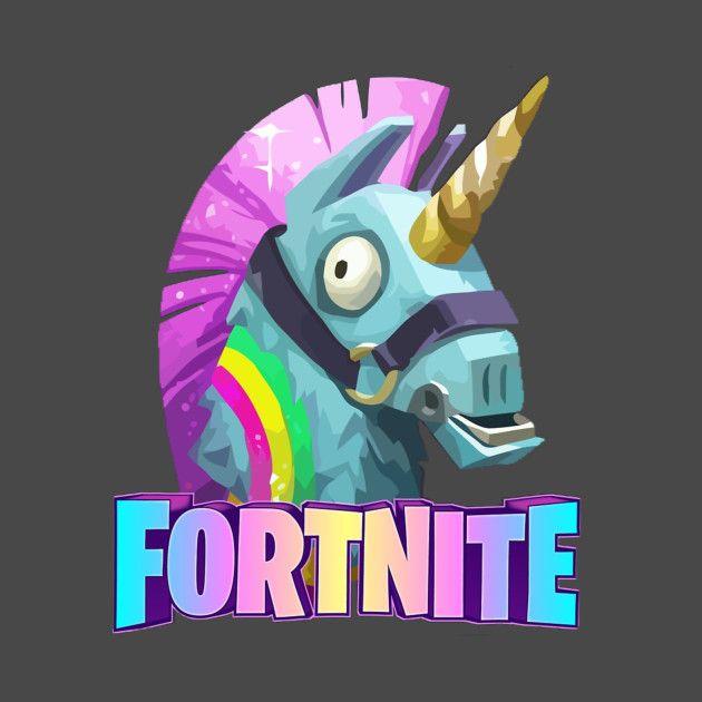 Loot Llama Fortnite T Shirt Teepublic Fortnite Bilder Gaming Hintergrunde Fortnite