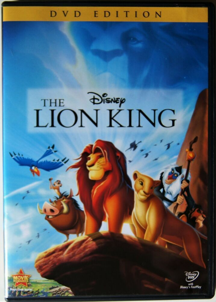The Lion King Dvd 2011 Walt Disney Animation Disney Lion King Dvd Lion King Movie Disney Lion King