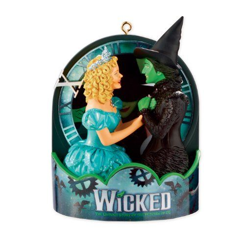 Carlton Cards Heirloom 10th Anniversary Wicked Musical