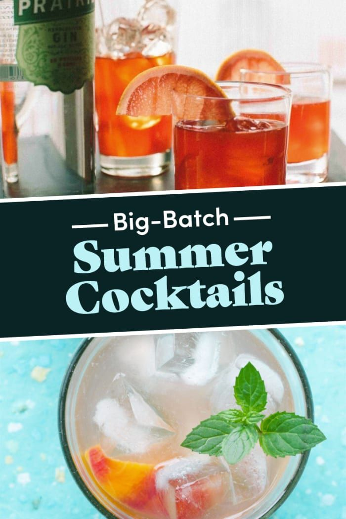 16 Big-Batch Cocktail Recipes Perfect For Summer Parties