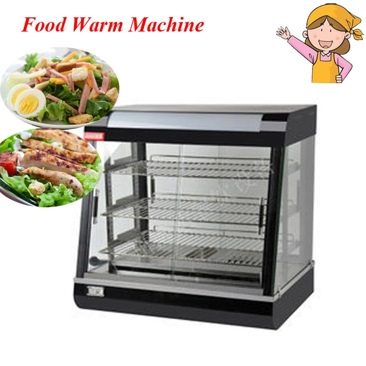 Commercial stainless steel electric food warmer three