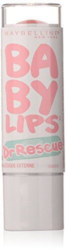Maybelline Dr. Rescue Medicated Lip Balm for Baby Dry Sore and Chapped Lips 4.4g #MaybellineNewYork