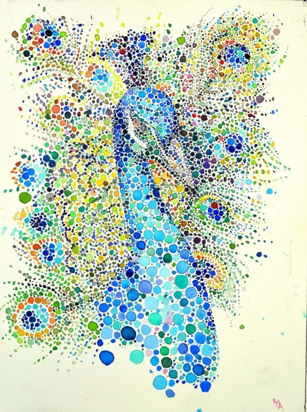 Beautiful Animal Drawings Made with Multicolored Dots http://www.neatorama.com/2016/03/09/beautiful-animal-drawings-made-with-multicolored-dots/