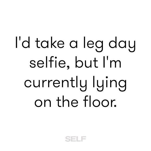 selfmagazine Legs = Jello #TeamSELF #legday #fitness #meme 2016/09/12 22:10:15