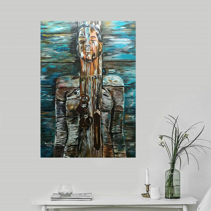 Gallerymak.com - 2.000 TL / 575 USD #Kadın - 19 (Woman - 19) by Deniz Bağ #Tuval üzerine #Akrilik / #Acryliconcanvas 70cm x 100cm  #gallerymak #sanat #resim #ressam #ig_sanat #tablo #modernsanat #sanatgalerisi #sergi #art #arte #kunst #painting #acrylicpainting #paintings #contemporaryart