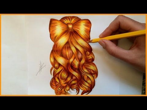 17 Best Images About Drawing On Pinterest Wavy Hair