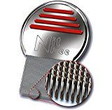BULK DISCOUNT WHEN BUYING 6 OR MORE  LEVIA Nit-Free Terminator Comb  #1 Best Lice Comb on the Market! Get Rid of Head Lice & Nits Easily with this Professional Stainless Steel Comb by LEVIA.