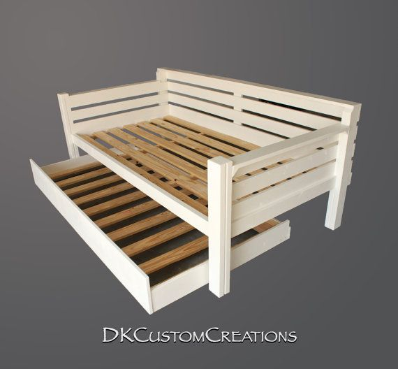 Custom Made Daybed And Trundle The Rolls Out Nicely Handmade Of Pine Wood Built To Last By Dkcustomcreations From In 2018