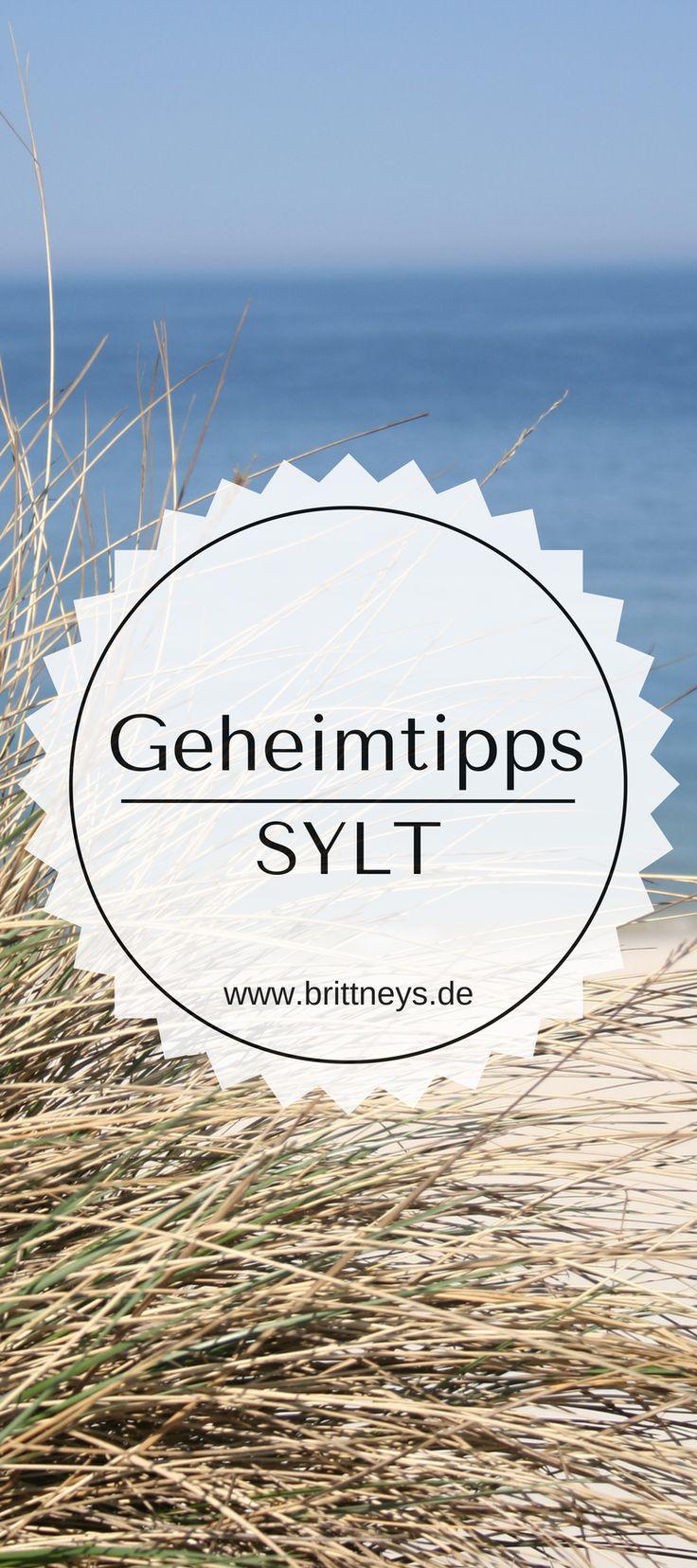 Du willst Urlaub auf Sylt abseits der Touristenmassen? Du liebst Kampen? Dann sind diese ultimativen Geheimtipps für Sylt perfekt für dich geeignet. #Sylt #UrlaubinDeutschland #Reisetipp