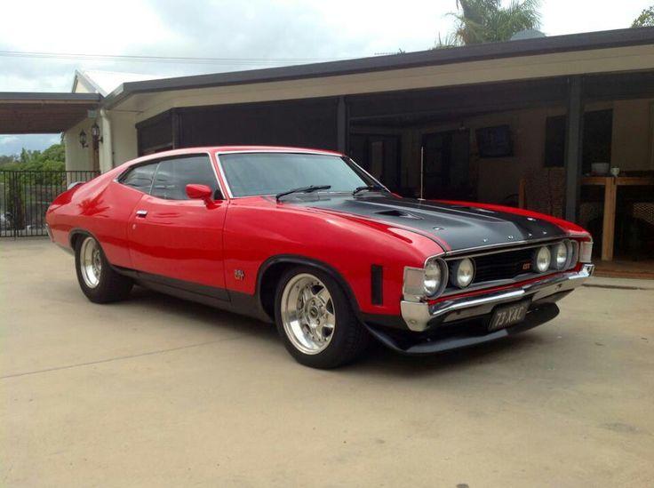◆ Visit MACHINE Shop Café... ◆ ~ Aussie Custom Cars & Bikes ~ (1971 Ford XA GT Falcon Coupé)