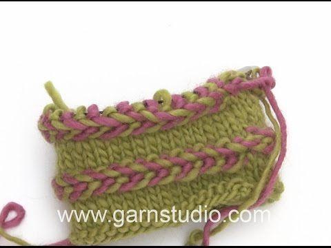 DROPS Knitting Tutorial: How to work Latvian Braid - YouTube