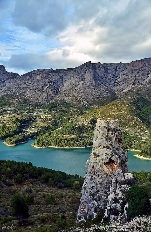Guadalest, Alicante, Spain To book go to www.notjusttravel.com/anglia